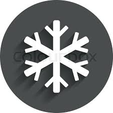 air conditioning icon vector. snowflake sign icon. air conditioning symbol. circle flat button with shadow. modern ui website navigation. vector | stock colourbox icon o