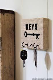 diy key holder using michaels raw bar materials