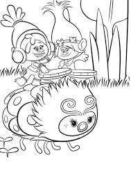 Trolls Holiday Coloring Pages Through The Thousand Images On Line