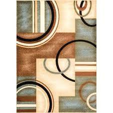 arcs and shapes light blue 7 ft x modern geometric area rug hillsby n