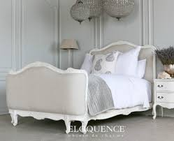 white upholstered beds. Captivating Linen Upholstered Bed For Your Bedroom Design Idea: Traditional With Twin White Beds