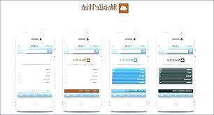 Mobile Login Template Mobile Tablet Responsive Template App