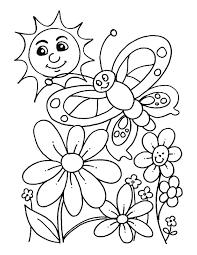 Cute Preschool Coloring Pages Spring 3647 Preschool Coloring Pages