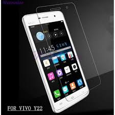 2pcs For VIVO Y22 Clear Tempered Glass ...