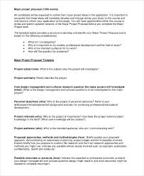 How To Develop A Research Proposal Stunning 44 Proposal Examples PDF
