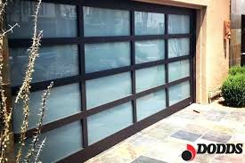 Glass Garage Doors Prices Loft Black Aluminum Garage Door Clear