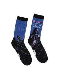 Darth Vader Star Wars READ adult socks — Out of Print