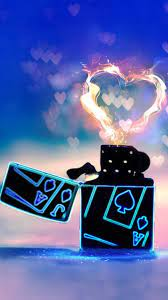 Heart Fire iPhone 6 Wallpaper Download ...