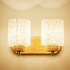 Hghomeart Reading Lamps Wall Mounted Modern Wood Wall Lamp Luminaria E27 Light 110 220v Mounted Bedside Lamps Fixtures
