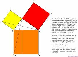 the best proof of pythagoras theorem ideas  pythagorean theorem proof essay better opinion