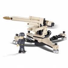Зенитка Flak - <b>Пластиковый конструктор Cobi</b>, военная коллекция