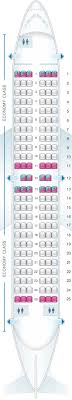 seat map for air transat boeing 737 700 us and south