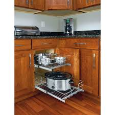 rev a shelf kitchen storage organization kitchen the home depot within the most amazing as well