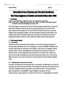 analysis of nelson mandela    s inauguration speech   university    the press systems of zambia and south africa after