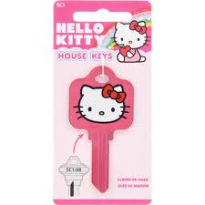 Home Depot Key Designs The Hillman Group 68 Hello Kitty Pink Key 87668 The Home