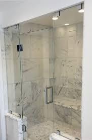 Glass shower enclosures plus glass shower doors plus seamless shower ...