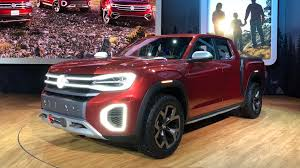 VW explains why it brought a pickup truck concept to New York - Roadshow