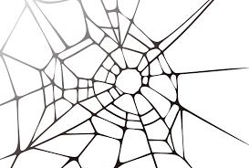 蜘蛛の巣のような白色の背景素材aiepsのイラレイラストレーターの