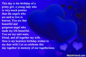 Birthday Quotes For A Beautiful Girl Best of This Day Is The Birthday Of Birthday Wish For Wife