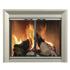 replacement glass for wood burning stove fireplace doors open or closed for heat ceramic replacement glass