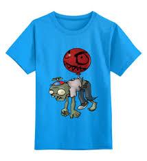 """Детские <b>футболки</b> c необычными принтами """"зомби"""" - <b>Printio</b>"""