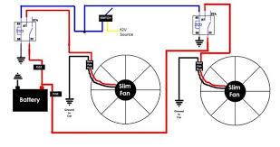 dual fans wiring to switch third generation f body message boards Fan Relay Wiring Diagram name dualfanwiringdiagram jpg views 859 size 33 9 kb fan relay wiring diagram for blower
