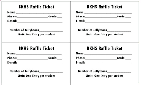 Ticket Template For Word Free Editable Raffle Movie Templates