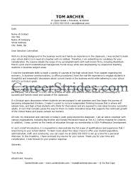 Teaching Cover Letters Careerstrides Combusiness Teacher Job With