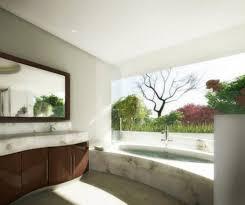 Bathroom: Awesome Outdoor Bathrooms With Small Bathtub - Bookshelves