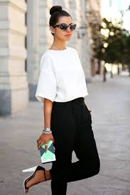 chic office style.  Style Chic Office Style In Black And White To Office Style