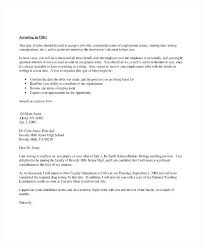 Letter Of Acceptance Sample School School Program Acceptance Letter Template Example Download Job Offer
