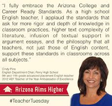the importance of informational text in arizona s college and  cindy pino aims higher