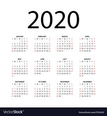 Calendars 2020 Free Calendar For 2020