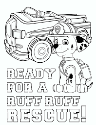 Marshall Paw Patrol Coloring Page Unique Free Paw Patrol Coloring