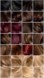 Olia Colour Chart Olia Brilliant Color In 2019 Red Hair Color Hair Color