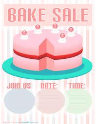 bake sale flyer templates bake sale flyer cake bake sale flyer template free planet surveyor com