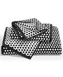 black and white bath towels. Charter Club Elite Cotton Fashion Dot Bath Towel, Created For Macy\u0027s Black And White Towels