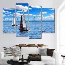 sailboat passion multi panel canvas wall art boat on boat canvas wall art with boat canvas prints elephantstock