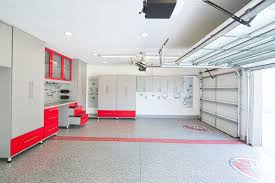 garage floor paint ideas garage and shed contemporary with counter double garage doors