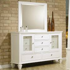 Dresser Sandy Beach White Bedroom Collection