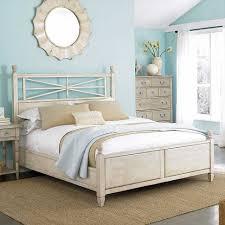 Extraordinary Beach Theme Bedroom With Dark Furniture Decoration