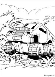 Hot Wheels Kleurplaten Milo Monster Truck Coloring Pages Truck
