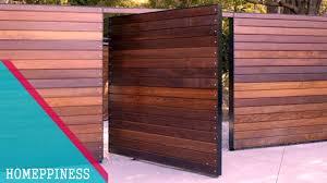 new design 2017 50 modern wood gate fence ideas you