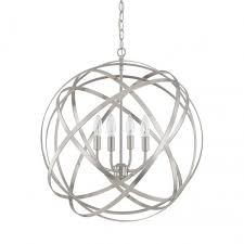 laurel foundry modern farmhouse kierra 4 light globe pendant reviews wayfair