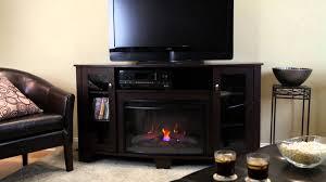 hampton bay media electric fireplace midnight cherry flat panel dimplex inserts hot blast wood stove stoves
