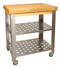 kitchen island cart industrial. Stainless Steel Butcher Block Kitchen Island Catskill Craftsmen Industrial Style Carts On Free Ship Full Size Cart I