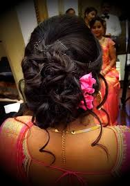 south indian bridal hairstyles wedding reception with photos