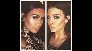 simple everyday kim kardashian makeup tutorial