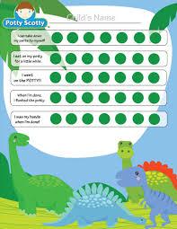 Dinosaur Potty Training Reward Chart Pin By Mai Spy On Wee Ones Potty Training Sticker Chart