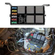 details about automotive fuse box 6 relay standard 6 way block holders 5 road for car truck
